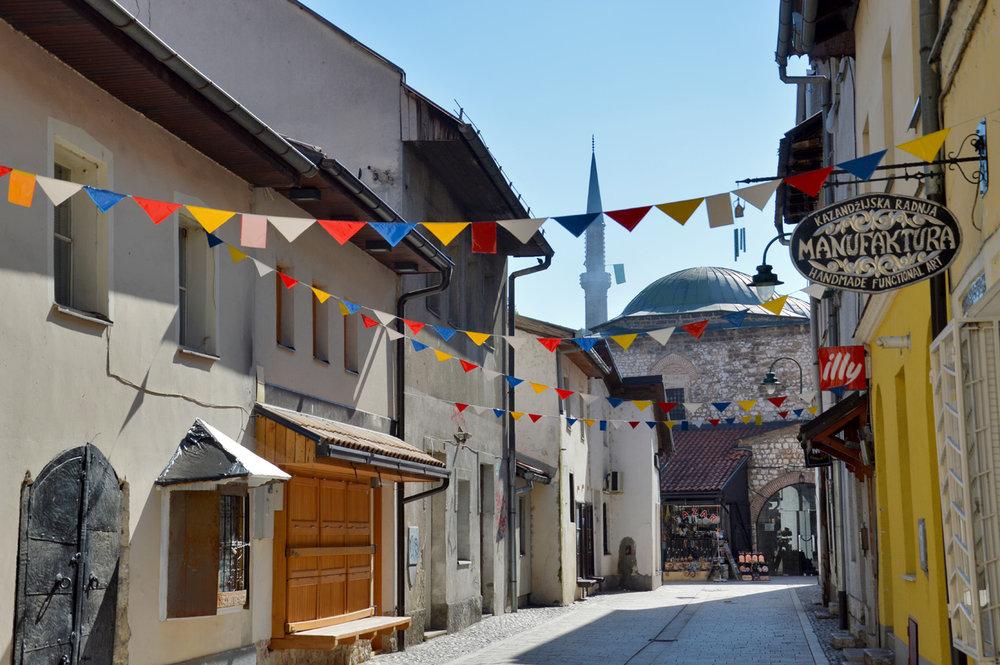 Old Market in Sarajevo