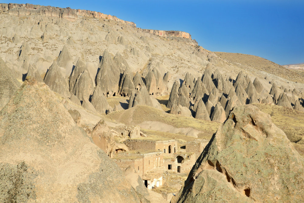 Cave towns in Goreme