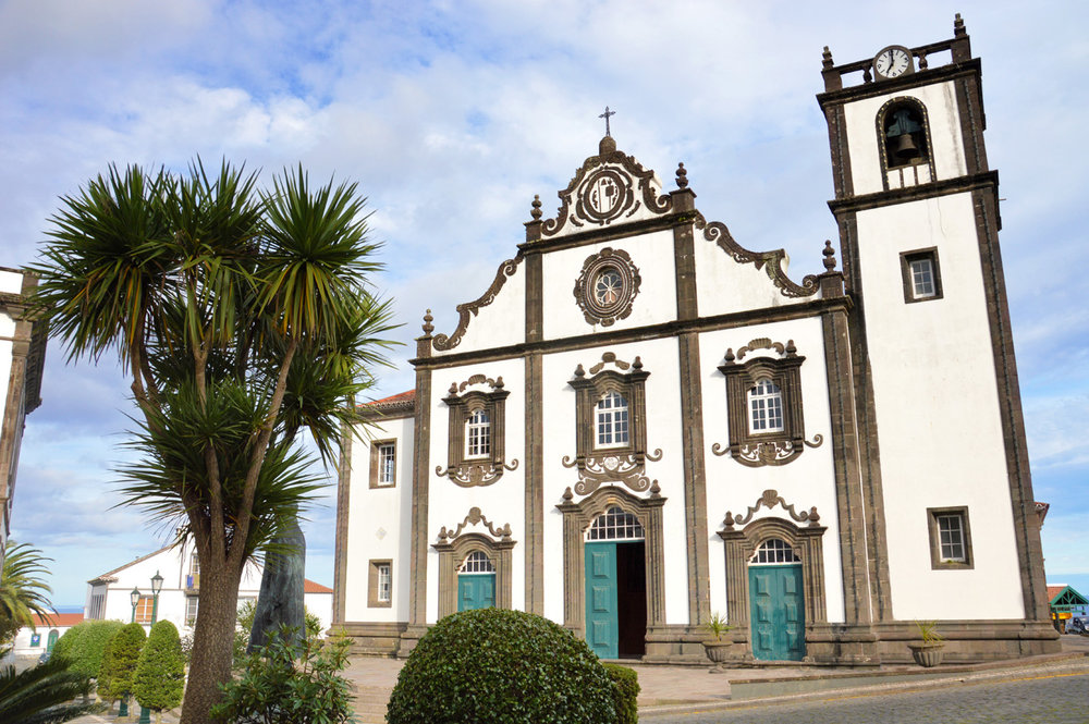 Church in Nordeste, Azores    more info