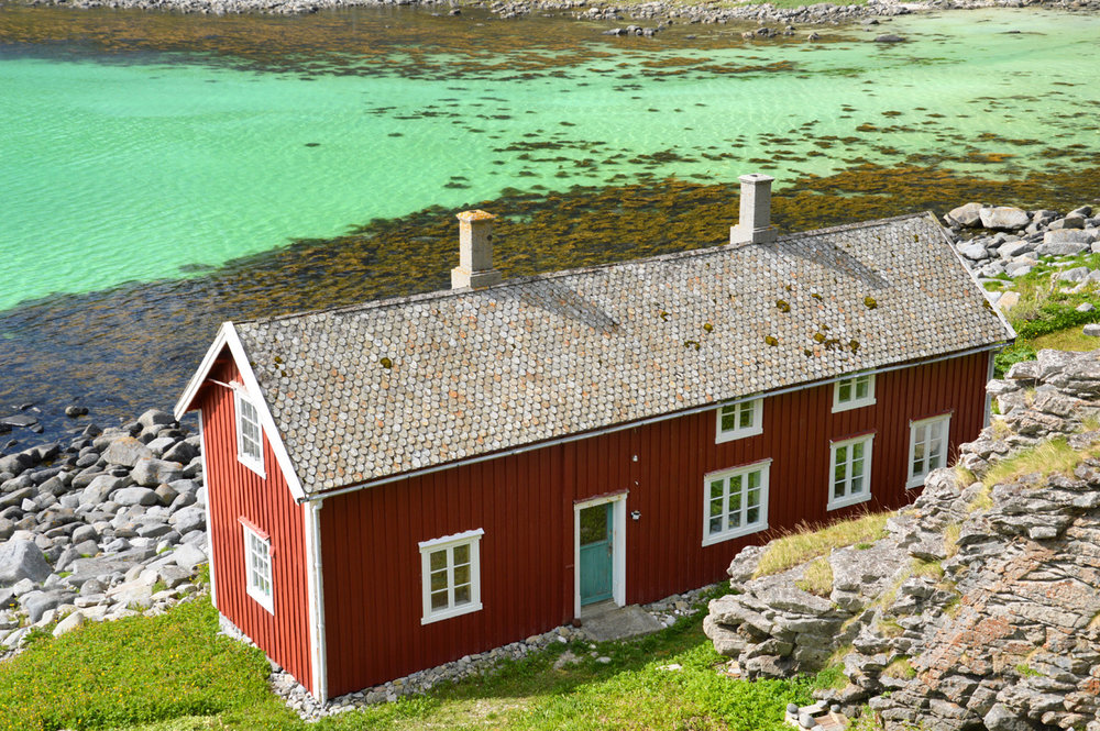 Fishermen house