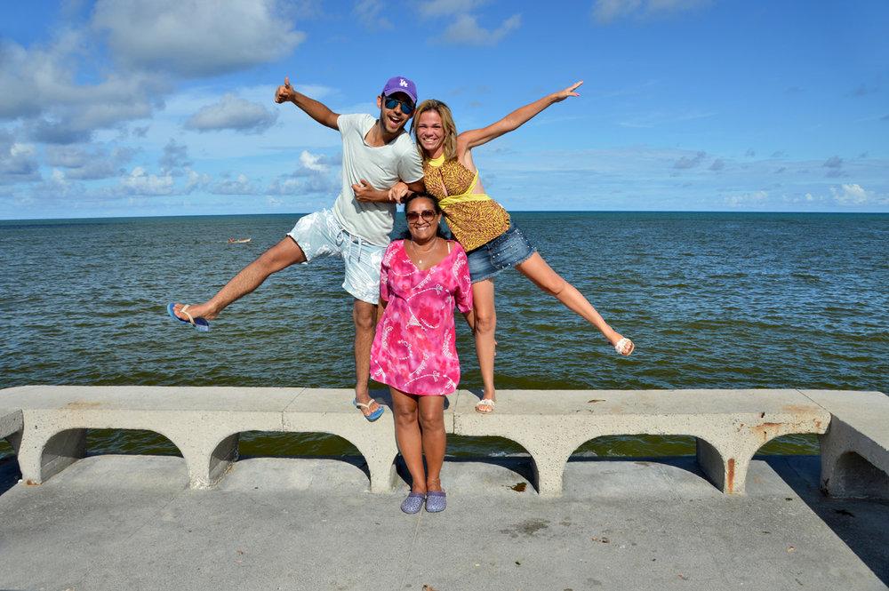 At Boa Viagem Beach