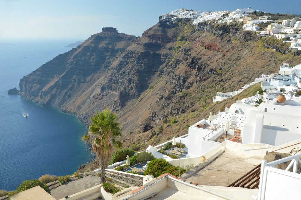 Views in Santorini