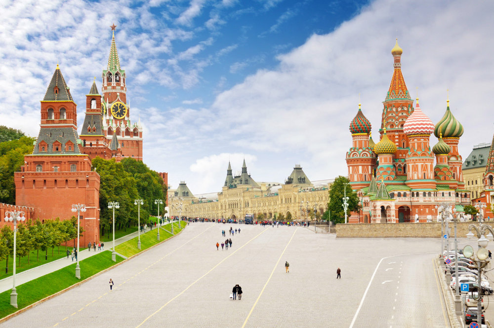 View over the Red Square