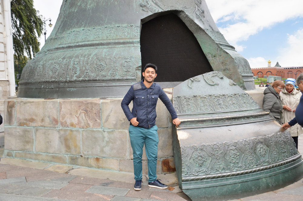 At the Ivan the Great Bell