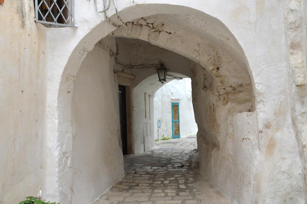 Ostuni old town