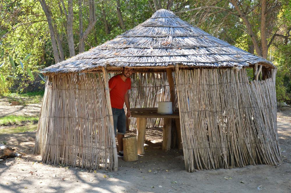 A local hut