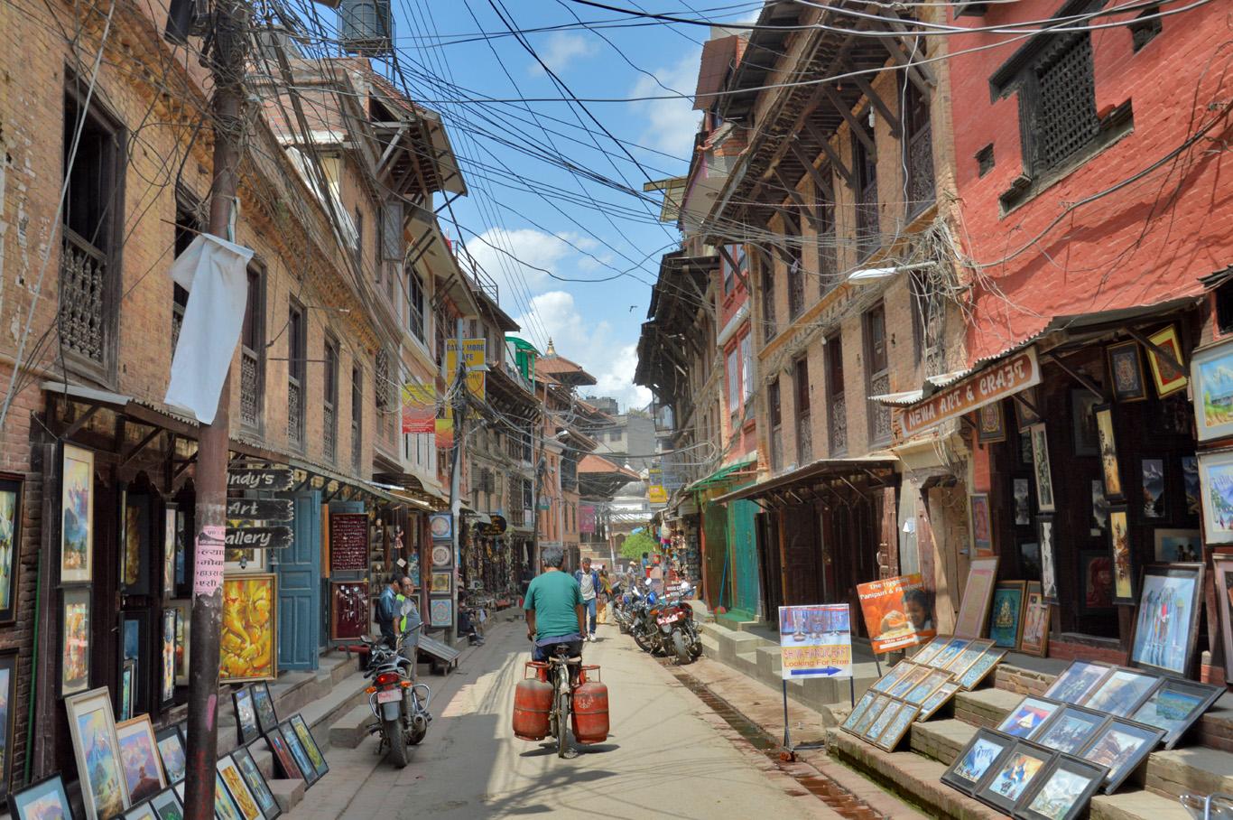 How to Get Around Kathmandu - Full of Contrast, Fascinating Capital Kathmandu City Street Map on windhoek city street map, shanghai city street map, juba city street map, chicago city street map, munich city street map, jerusalem city street map, montevideo city street map, phoenix city street map, athens city street map, kowloon city street map, kigali city street map, hobart city street map,