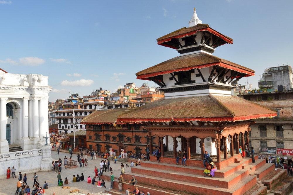 Kathmandu Durbar square -Trailokya Mohan Narayan Temple