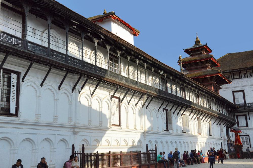 Kathmandu Durbar square - Palace complex