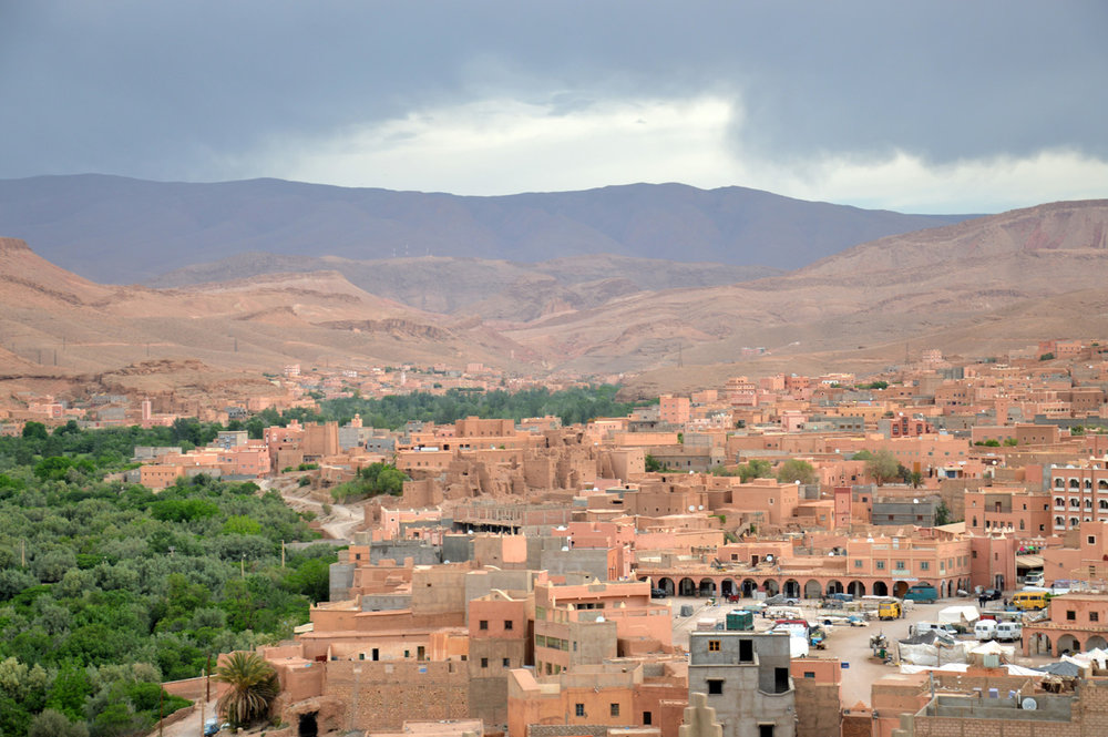 On the way to Dades Valley