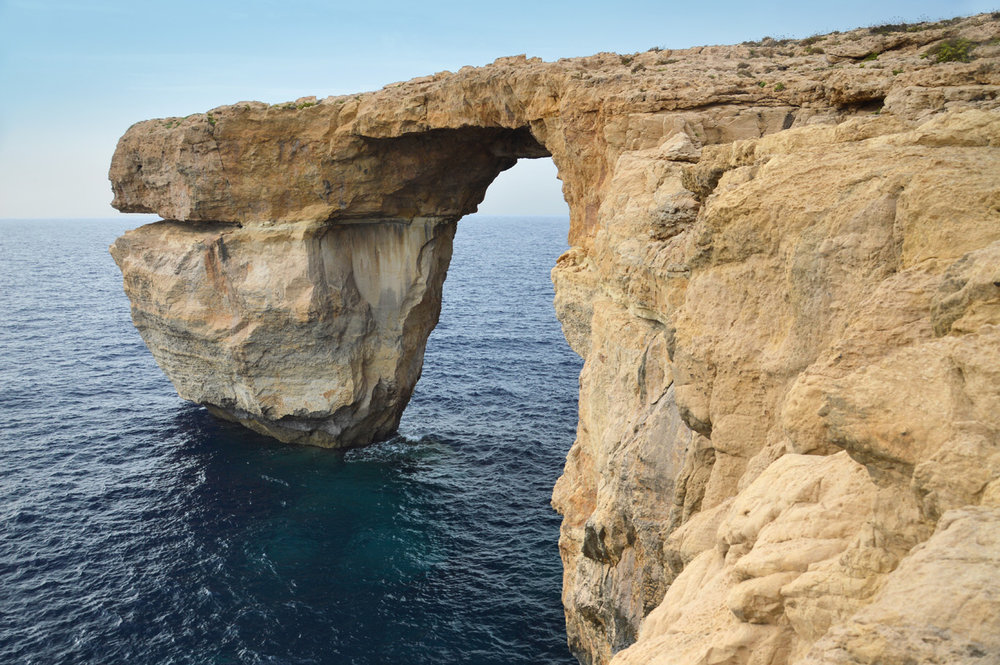 The famous Azure Window that collapsed