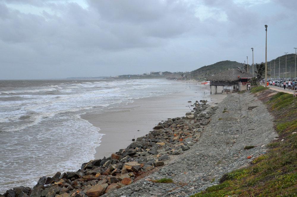 The beach in Sao Luis