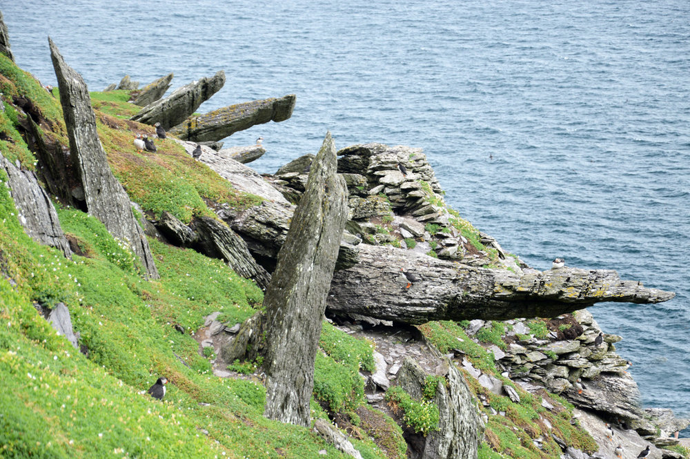 Rocks on Skellig Michael