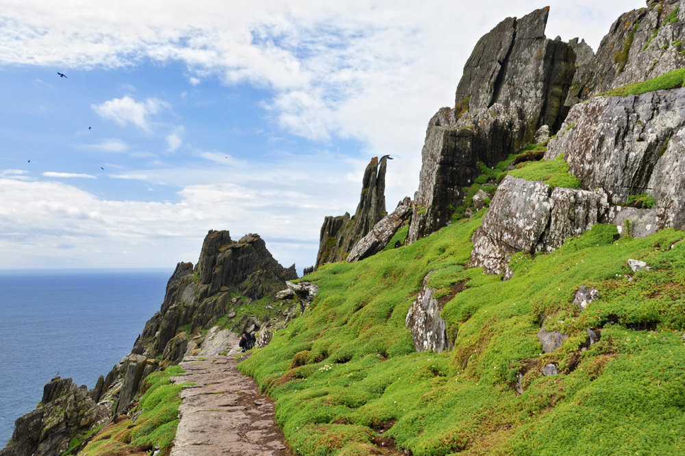 The other side of Skellig Michael