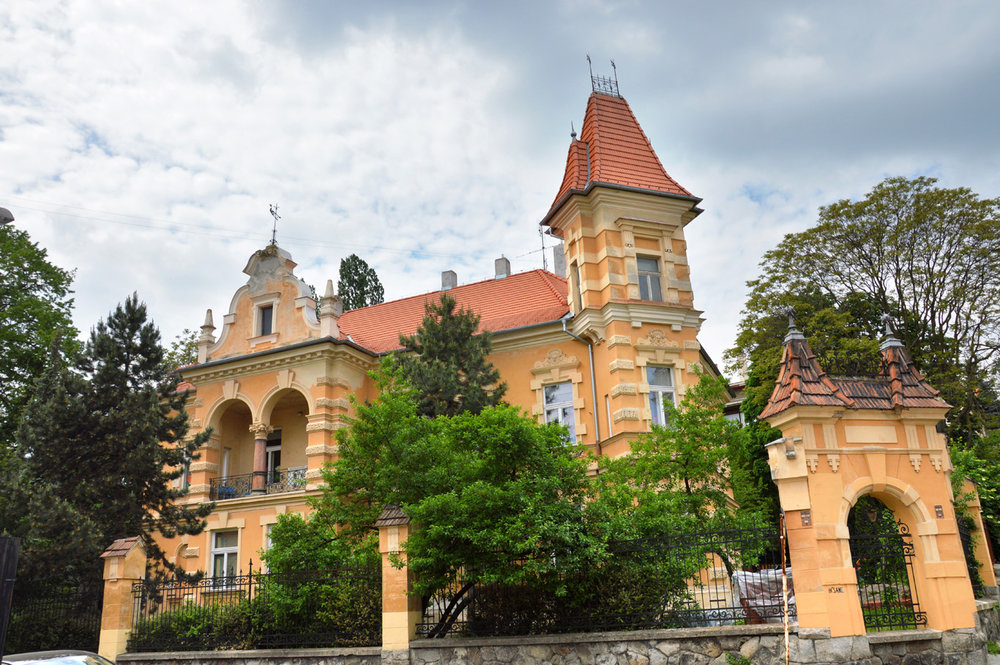 A mansion from the times of the Austro-Hungarian Empire