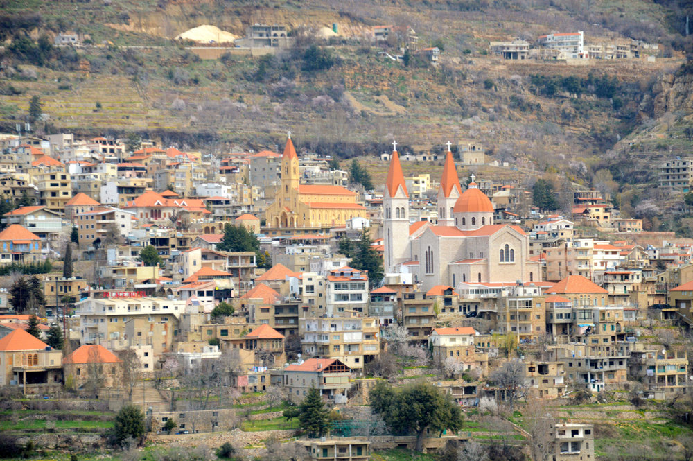 Mar Saba Cathedral in Bsharri