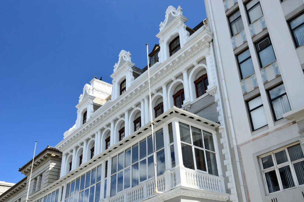 Beautiful architecture of Cape Town