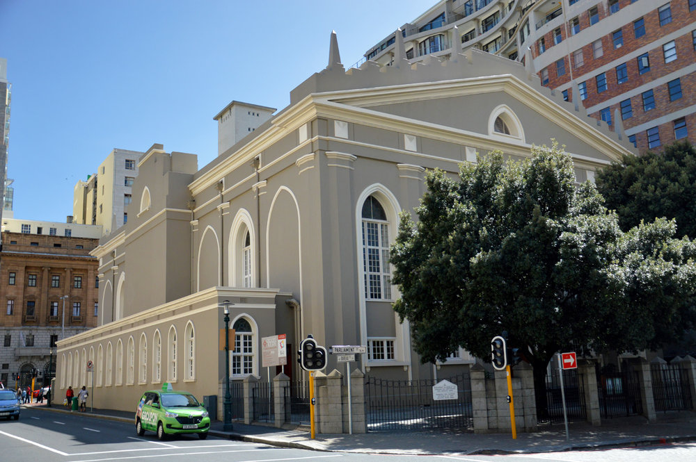 The oldest church in Cape Town (Groote Kerk)