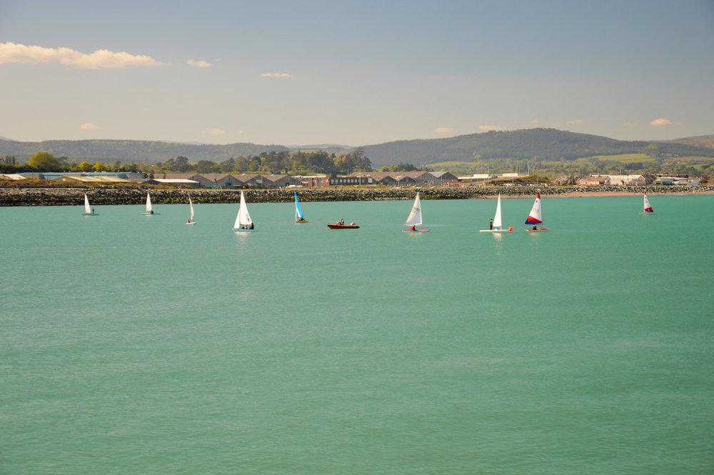 Boats in Wicklow