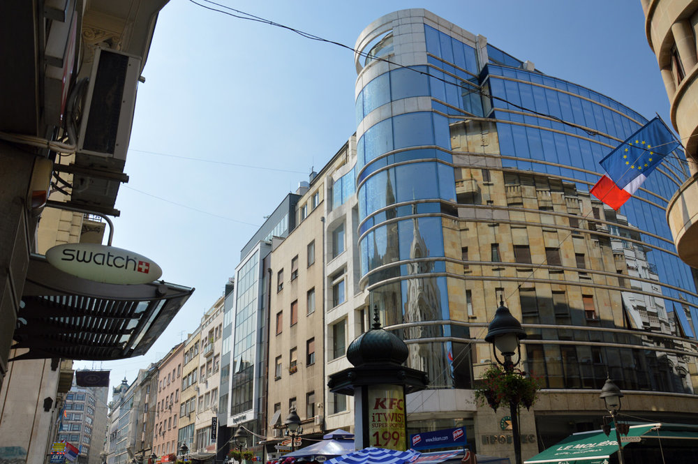 Modern Belgrade