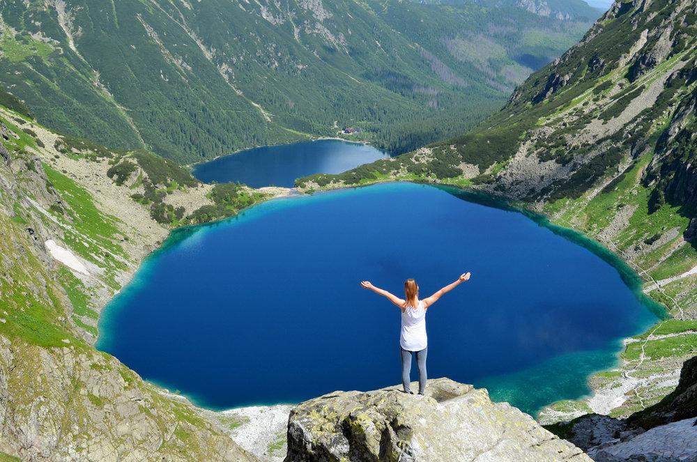 Rysy - Highest Peak in Poland     more info