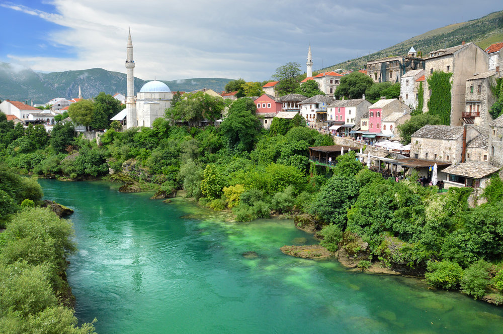 Old town in Mostar