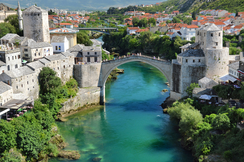 The Stone Bridge - view from Koskin-Mehmed Pasha's Mosque
