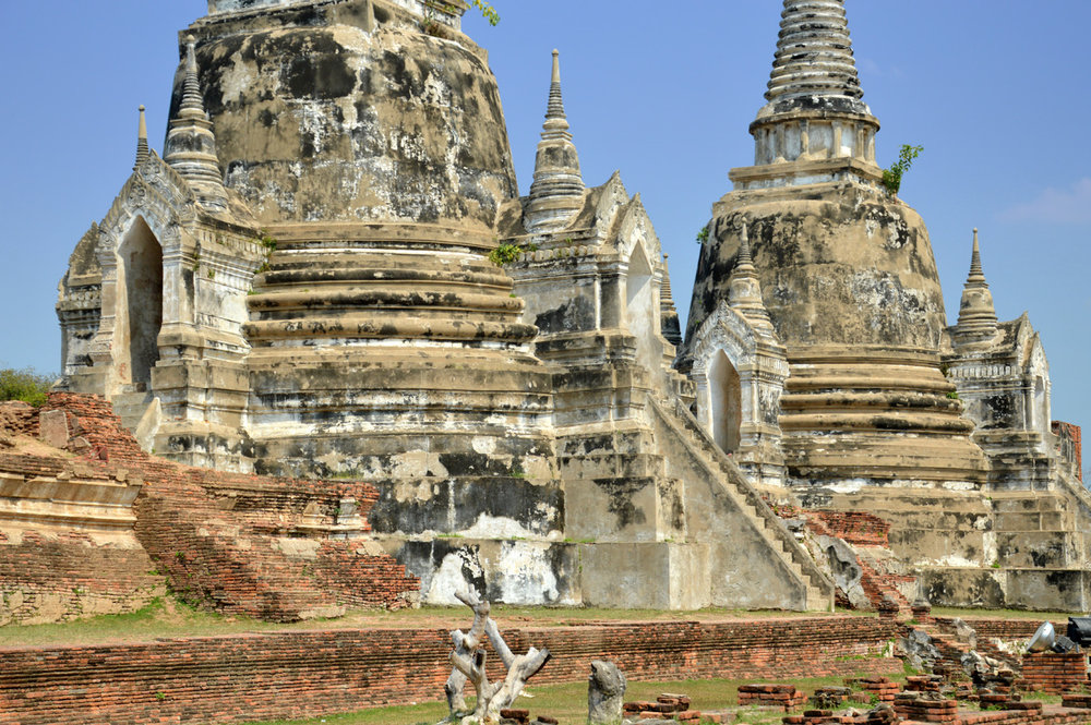 The three stupas of Wat Phra Si Sanphet