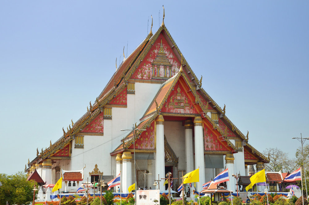 Buddhist Temple in Ayutthaya