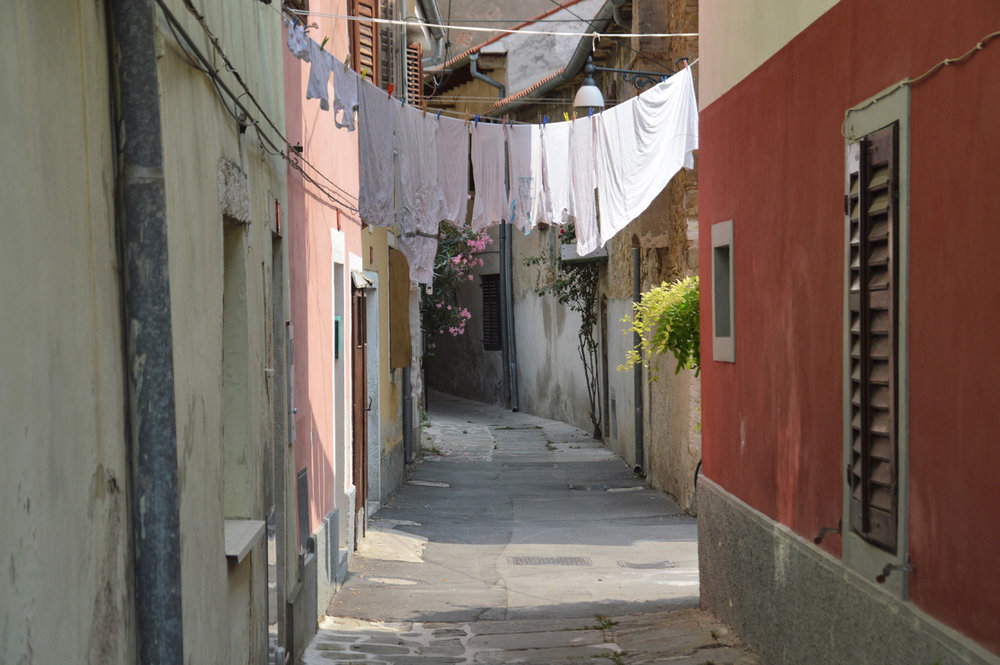 One of the old streets