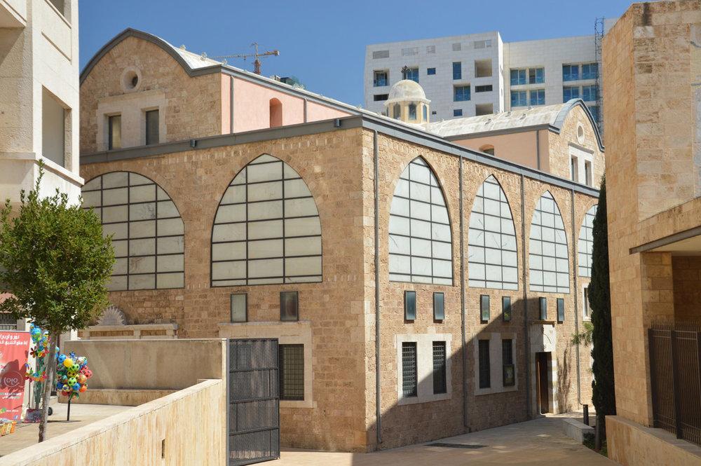 A church near the Nijmeh Square