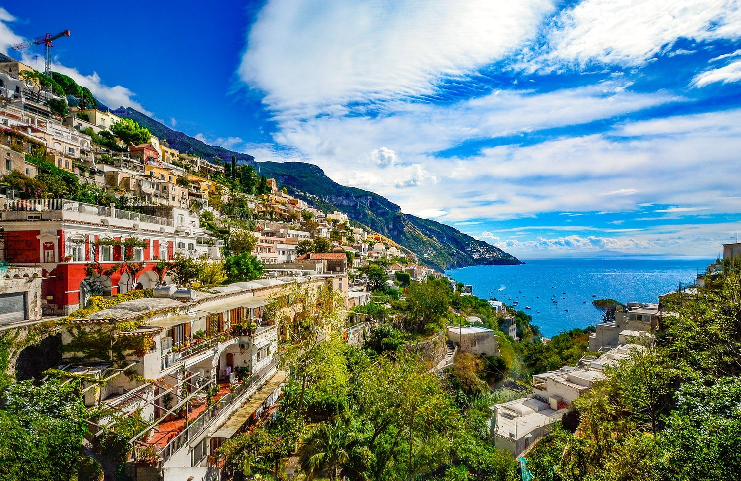 Driving The Amalfi Coast By Motorbike Adventurous Travels