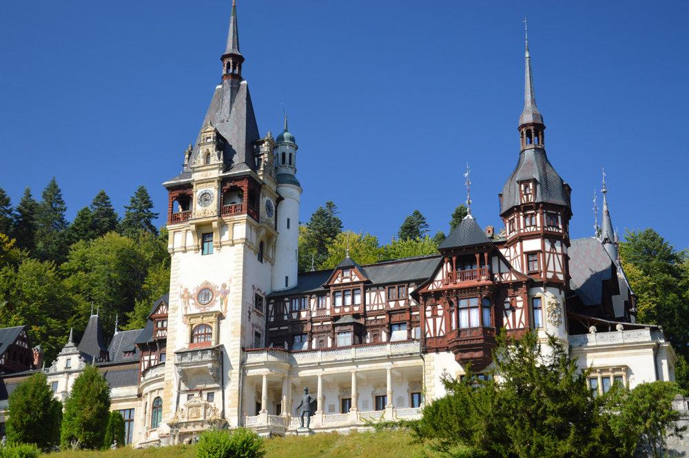 Fairy Tale Peles Castle    more info