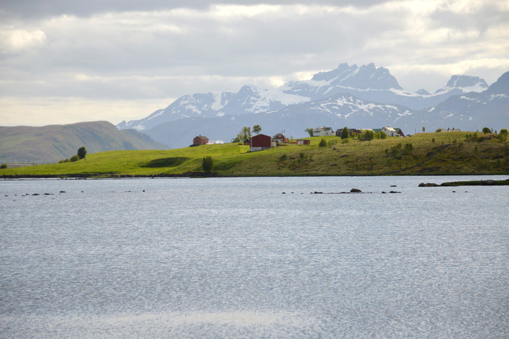 Approaching Haukland