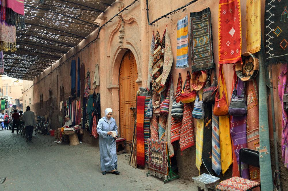 Souks in Medina