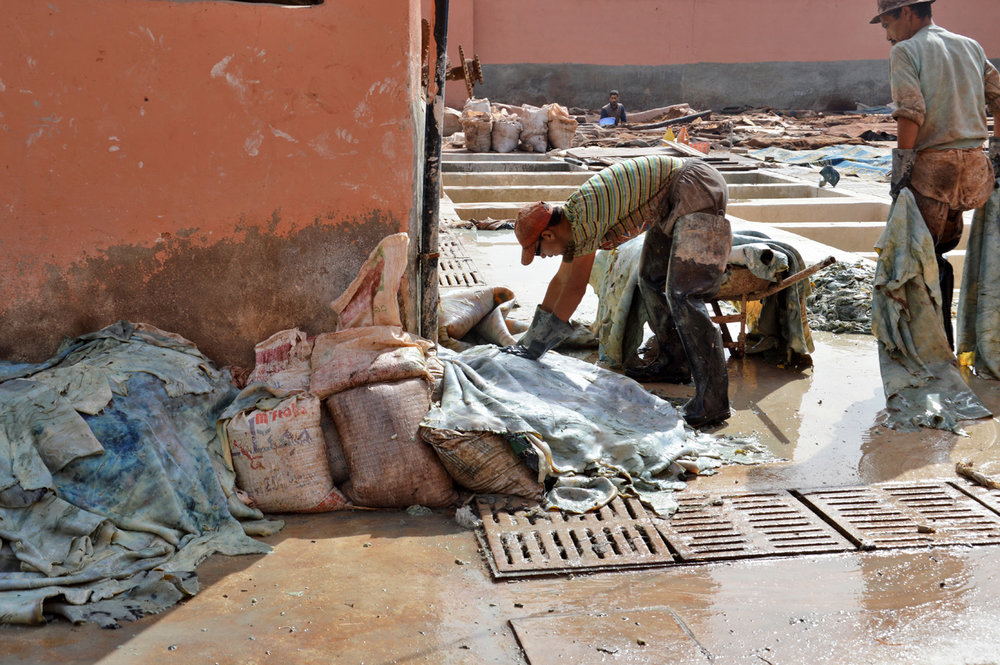 Marrakesh Tanneries