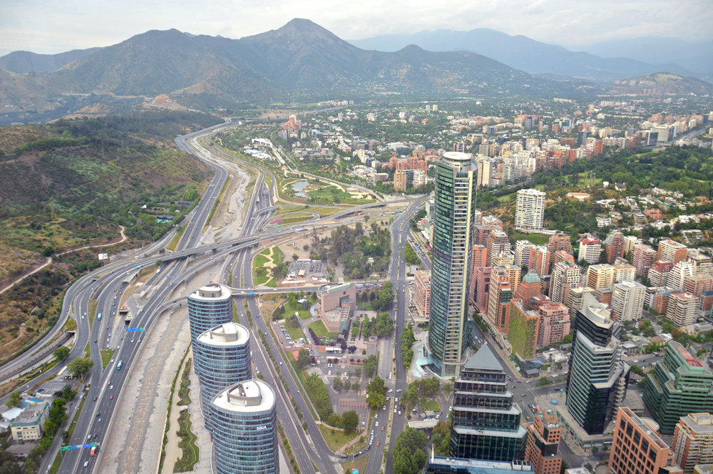 View from Gran Torre