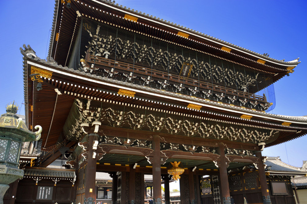 Nanzen-Ji Temple in Kyoto - the size is unimaginable