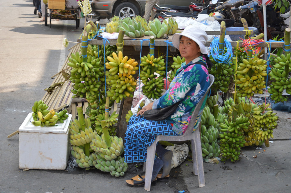 Street vendor in Phnom Penh