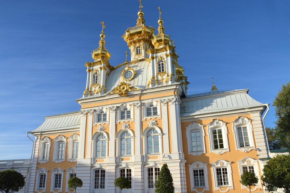 Church at the Peterhof complex