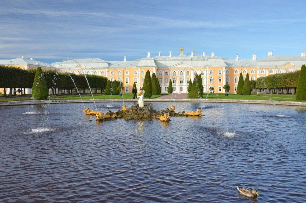 Peterhof - Upper Gardens