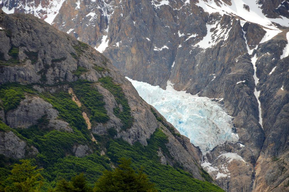 Glacier Piedras Blancas (number 5 on the map)