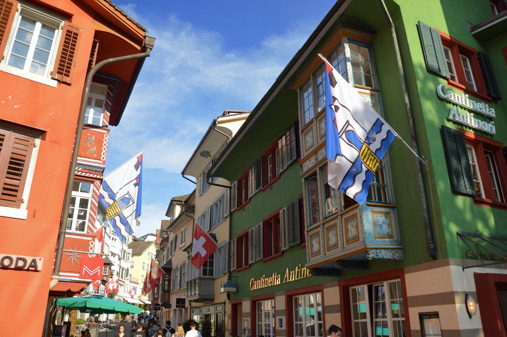 Zurich Old Town - Augustinergasse