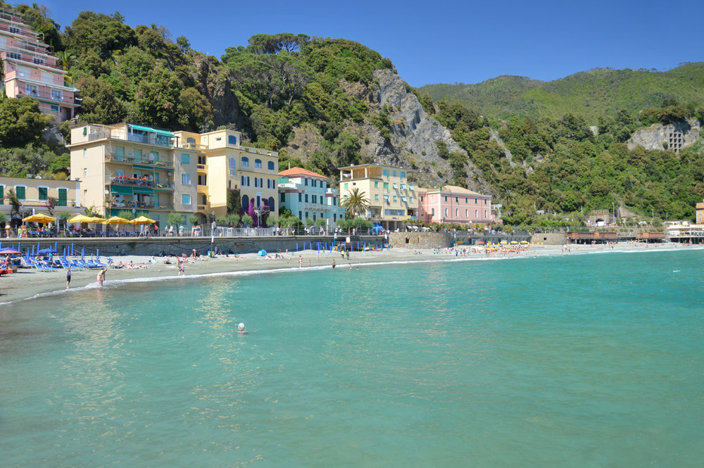 The fifth village - Monterosso (number 6 on the map)