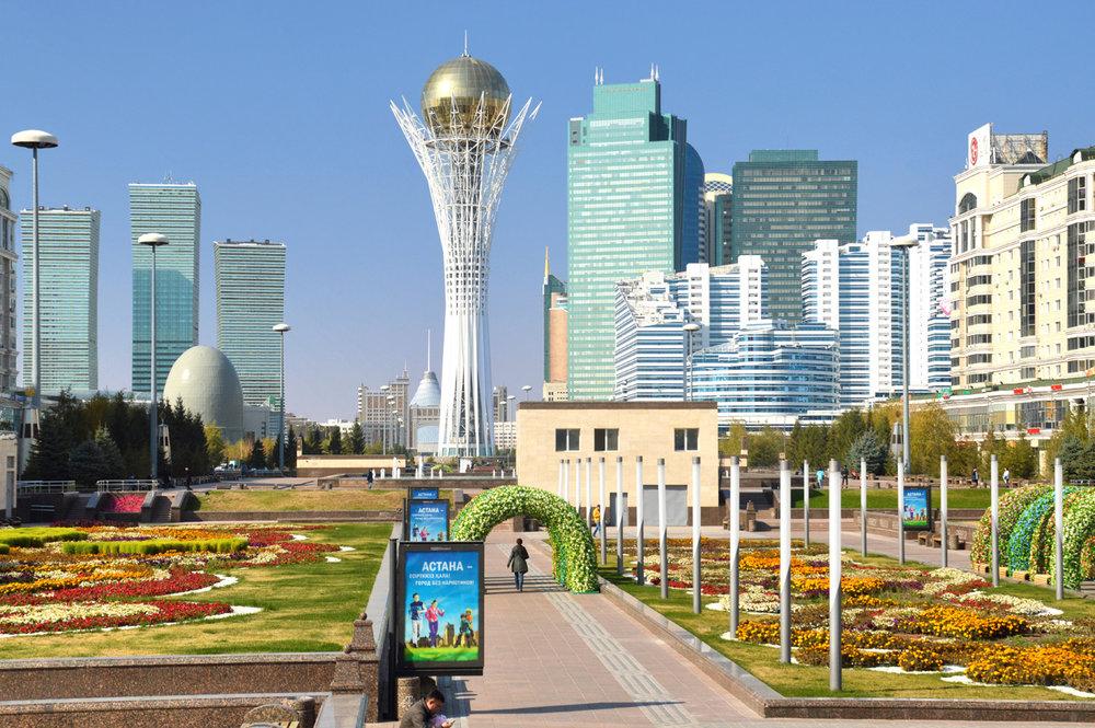Astana - new city center