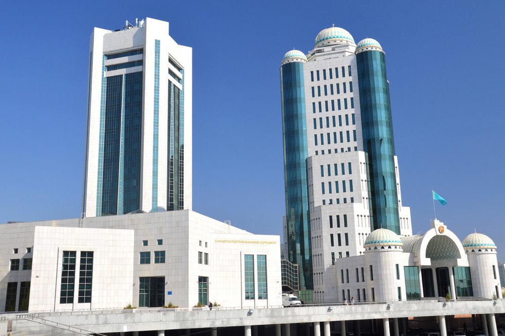Skyscrapers in Astana