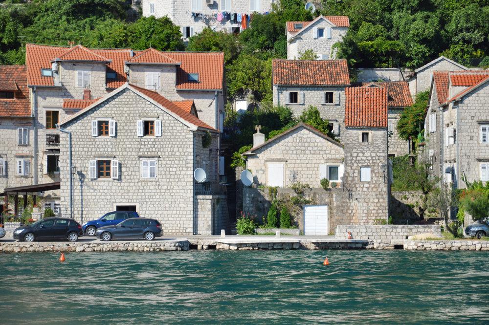 Houses in Perast