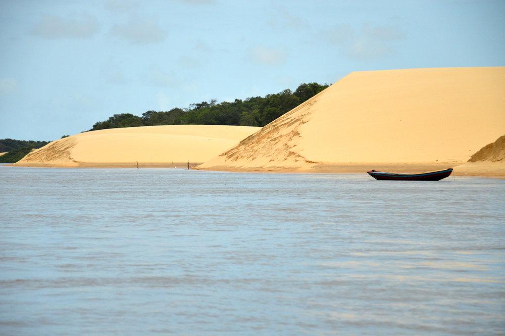Dunes at Preguicas river