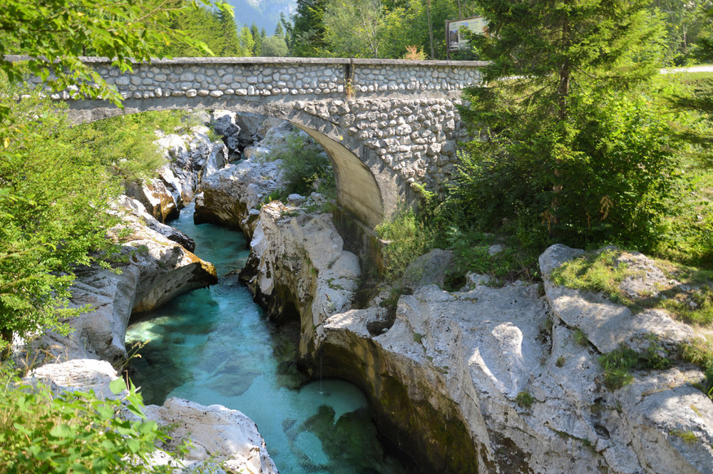 Bridge over Soca River