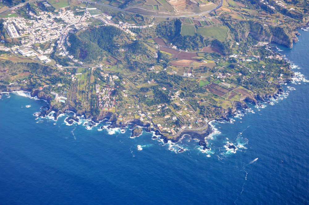 Landing in Azores